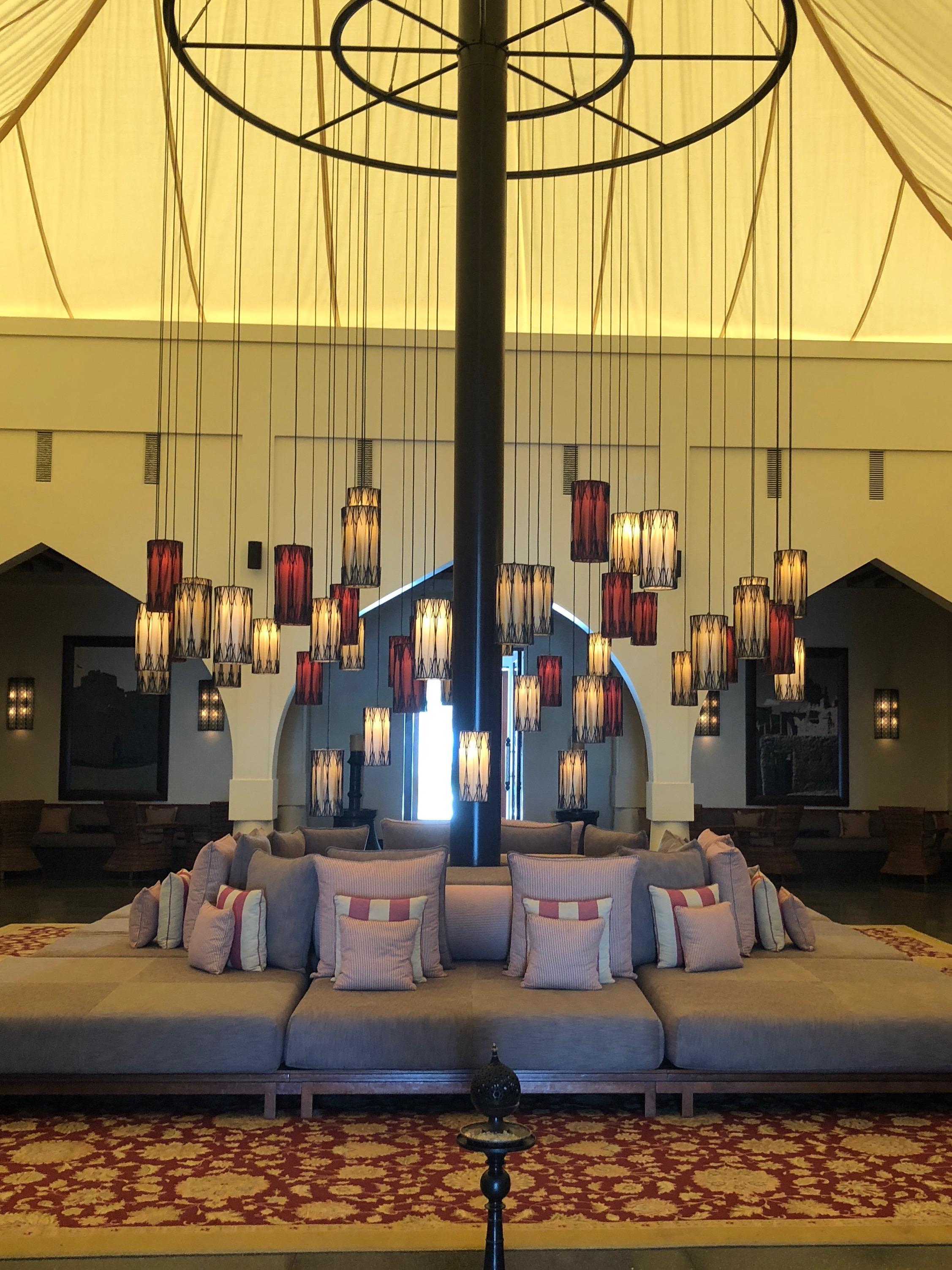 The Chedi lounge