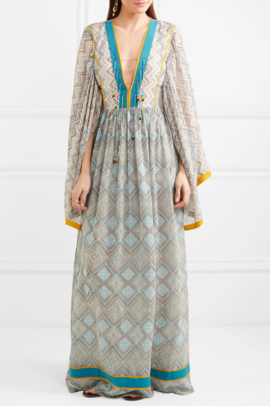 Talitha Magred silk maxi dress