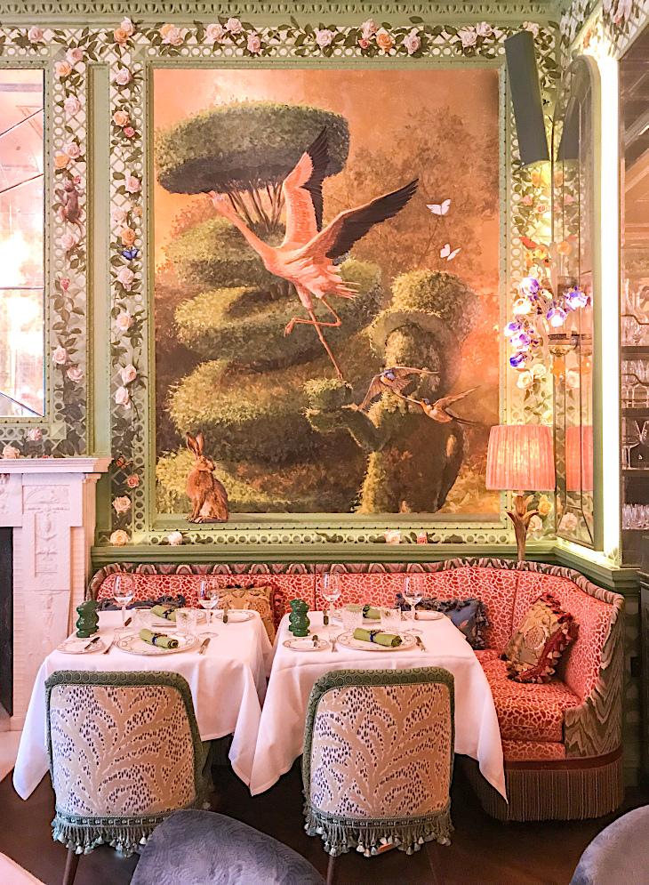 Dining chair tassel and bullion fringe details make their comeback...