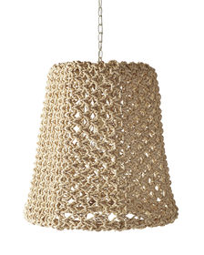 Yountville woven abaca pendant - Serena & Lily
