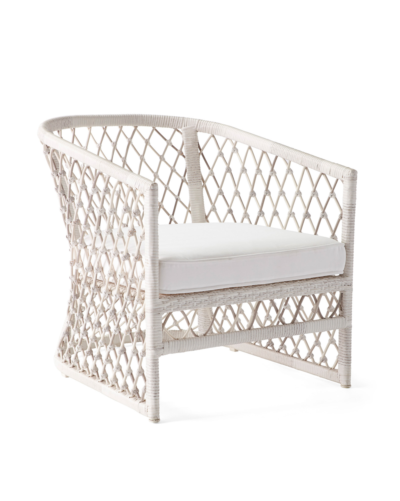 Capistrano outdoor lounge chair - Serena & Lily
