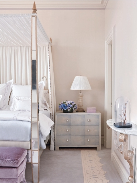 Nina-campbell-interior-decoartion-katie-considers-book-review-shagreen-dresser-lavender-velvet-ottoman-mirrored-four-poster-bedroom.jpeg