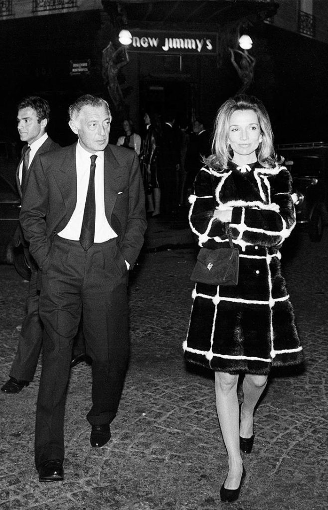 With Gianni Agnelli