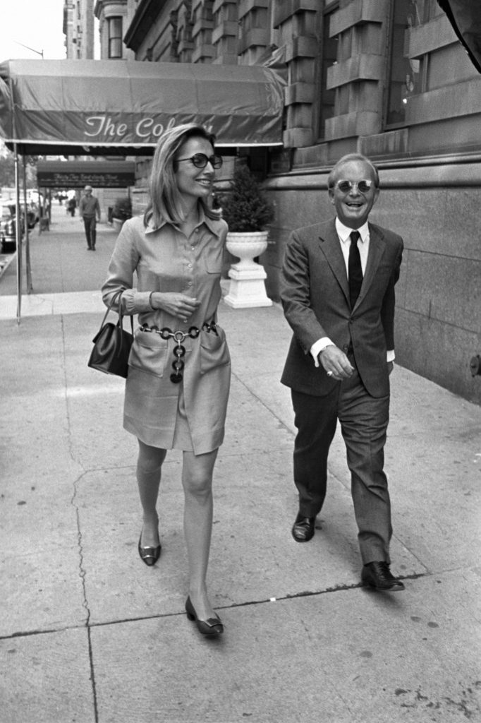 With Truman Capote