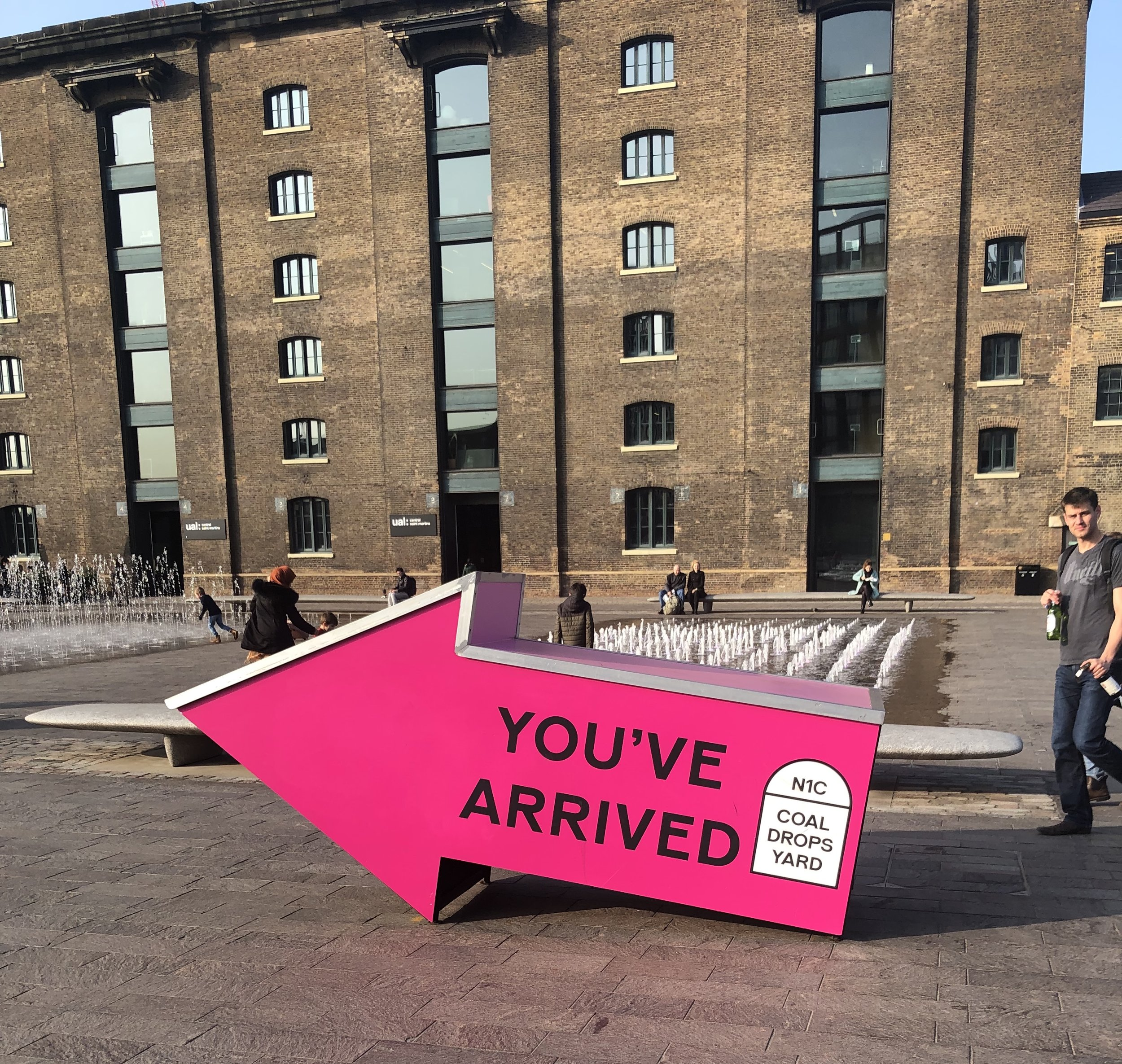 The Granary Complex at the entry of Coal Drops Yard
