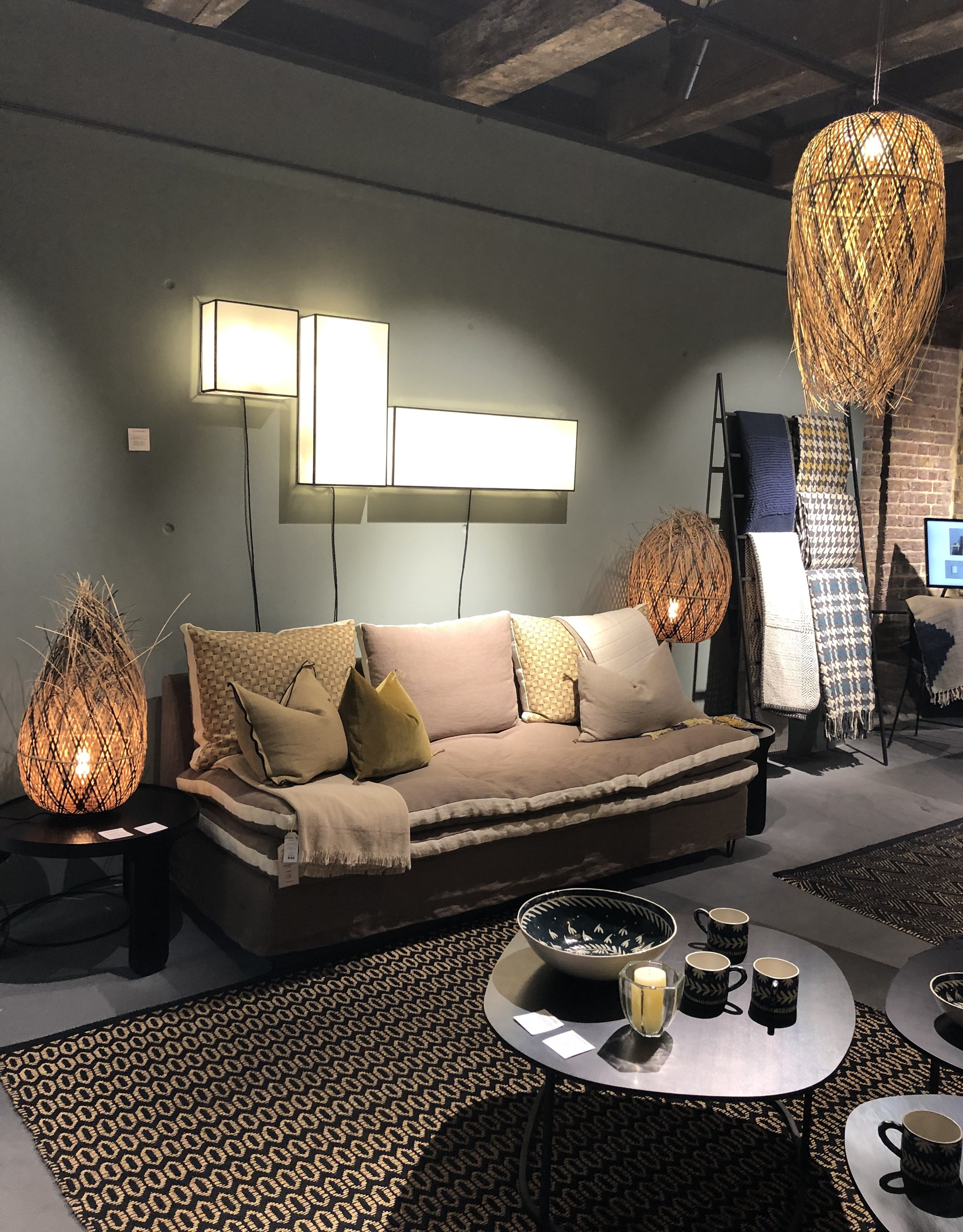 Beautiful furnishings in a rich variety of colors, patterns and textures from French interiors   Caravane caravane.fr
