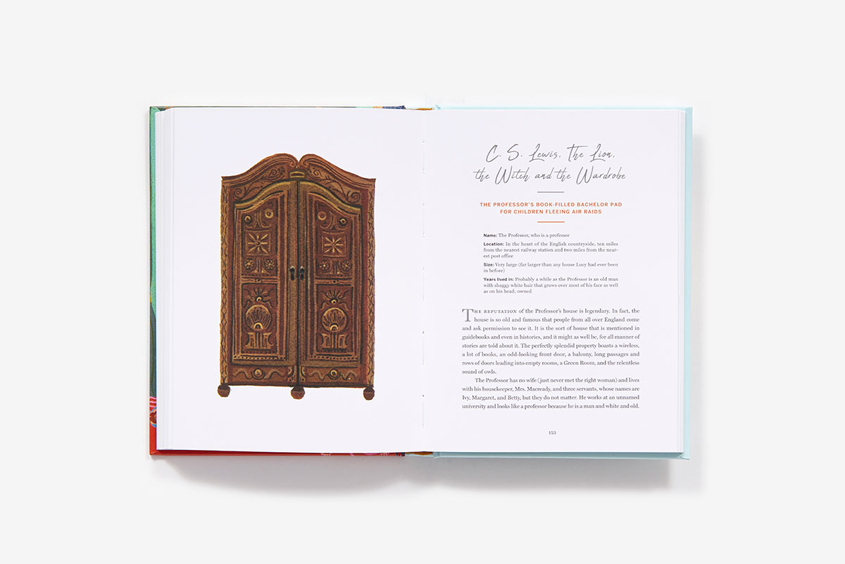 C.S. Lewis' The Lion the Witch and the Wardrobe chapter - illustration by Becca Stadtlander