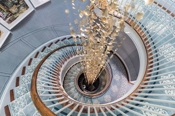 Grand upper staircase -  Brian Gluckstein