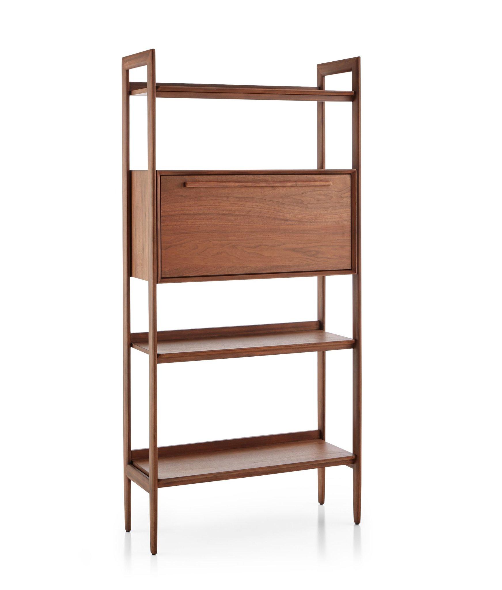 Tate Bookcase Bar - Crate & Barrel