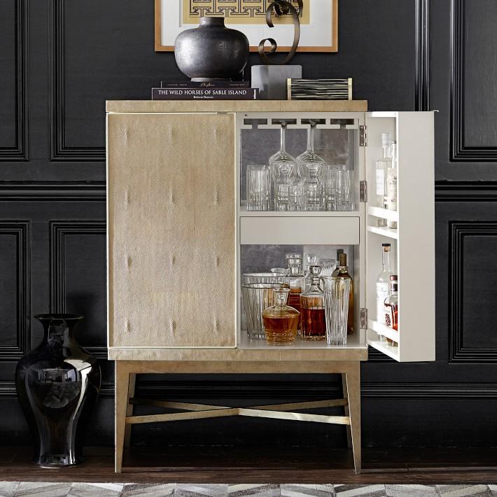 Vienna Bar Cabinet - Williams Sonoma