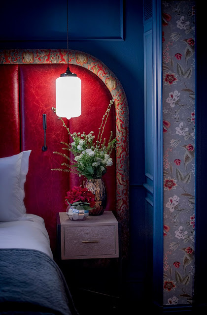 A custom fabric headboard is well worth the splurge that will elevate the entire look of your bedroom