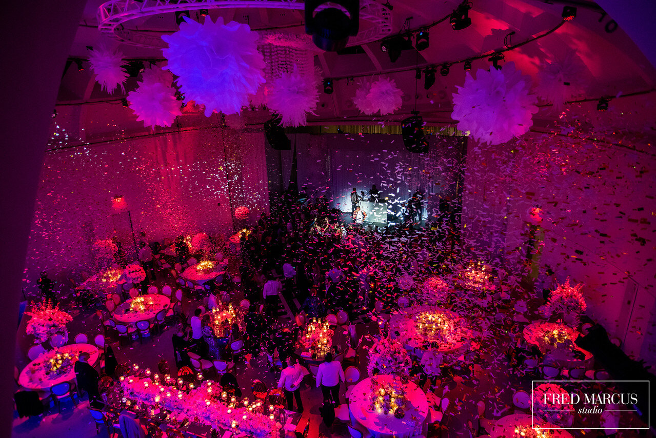 The Faena  Miami Beach conjures up cascading confetti from the heavens