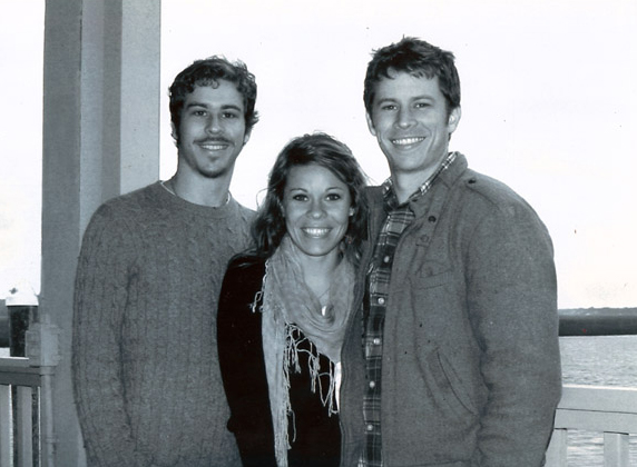 The FishSmith Co. team (from left to right: Madison, Becca, and Elliott Smith)