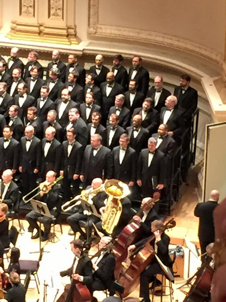 Chicago Symphony Orchestra and Chorus in Carnegie Hall (2015)