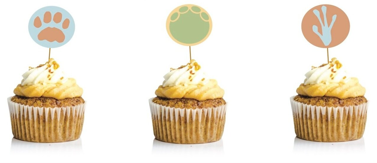 5. Cupcake Toppers
