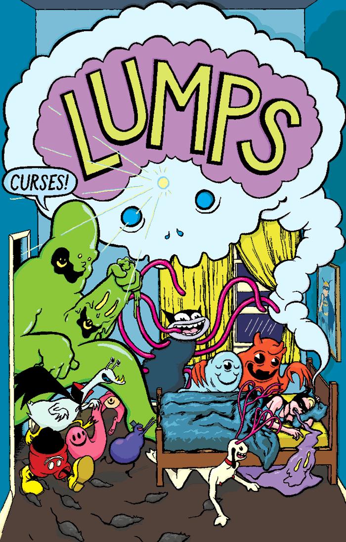 """""""CURSES!"""" cover art"""