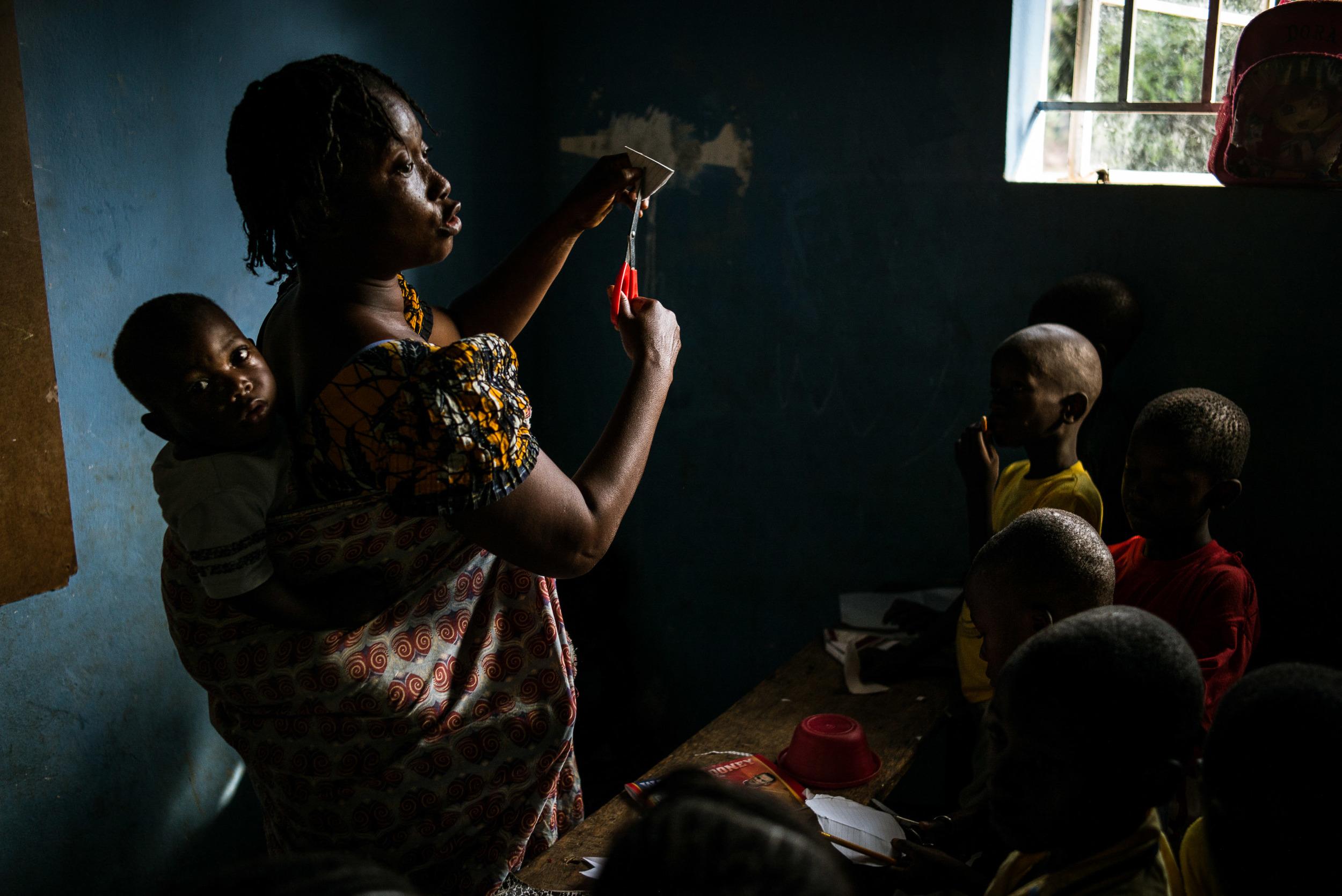 George Brook School, Freetown, Sierra Leone.