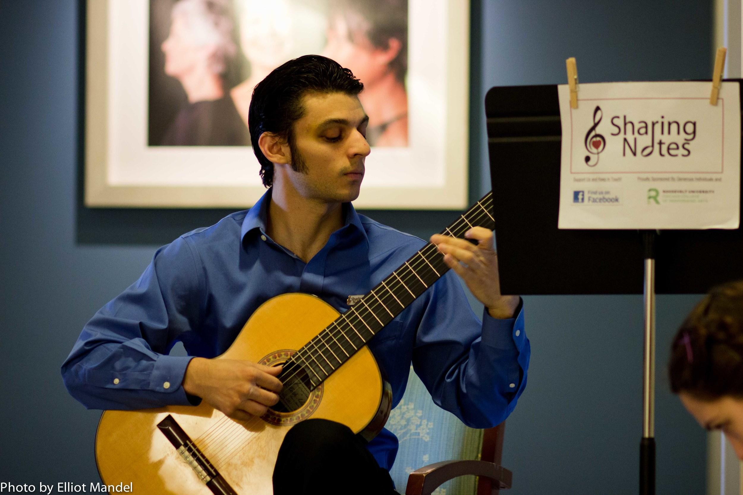 Guitarist Jack Cimo