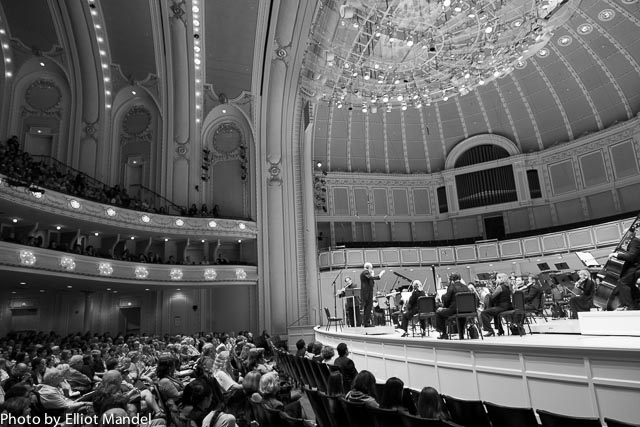 Orchestra Hall is one of my favorite spaces in the city.