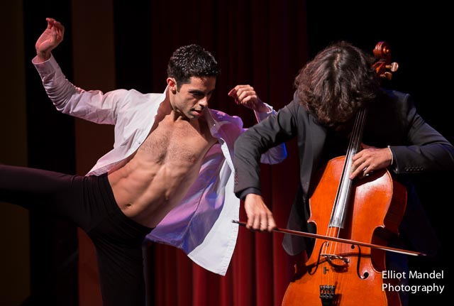 Lucas Segovia (left), Ian Maksin