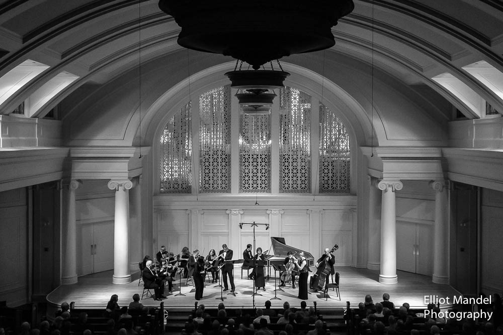Bach Week Festival Orchestra in Nichols Hall