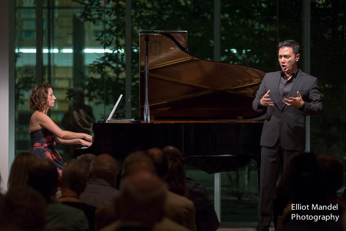 Tenor Nicholas Phan and pianist Shannon McGinnis.