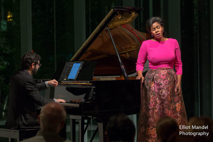 Soprano Nicole Heaston and pianist Michael Brown.