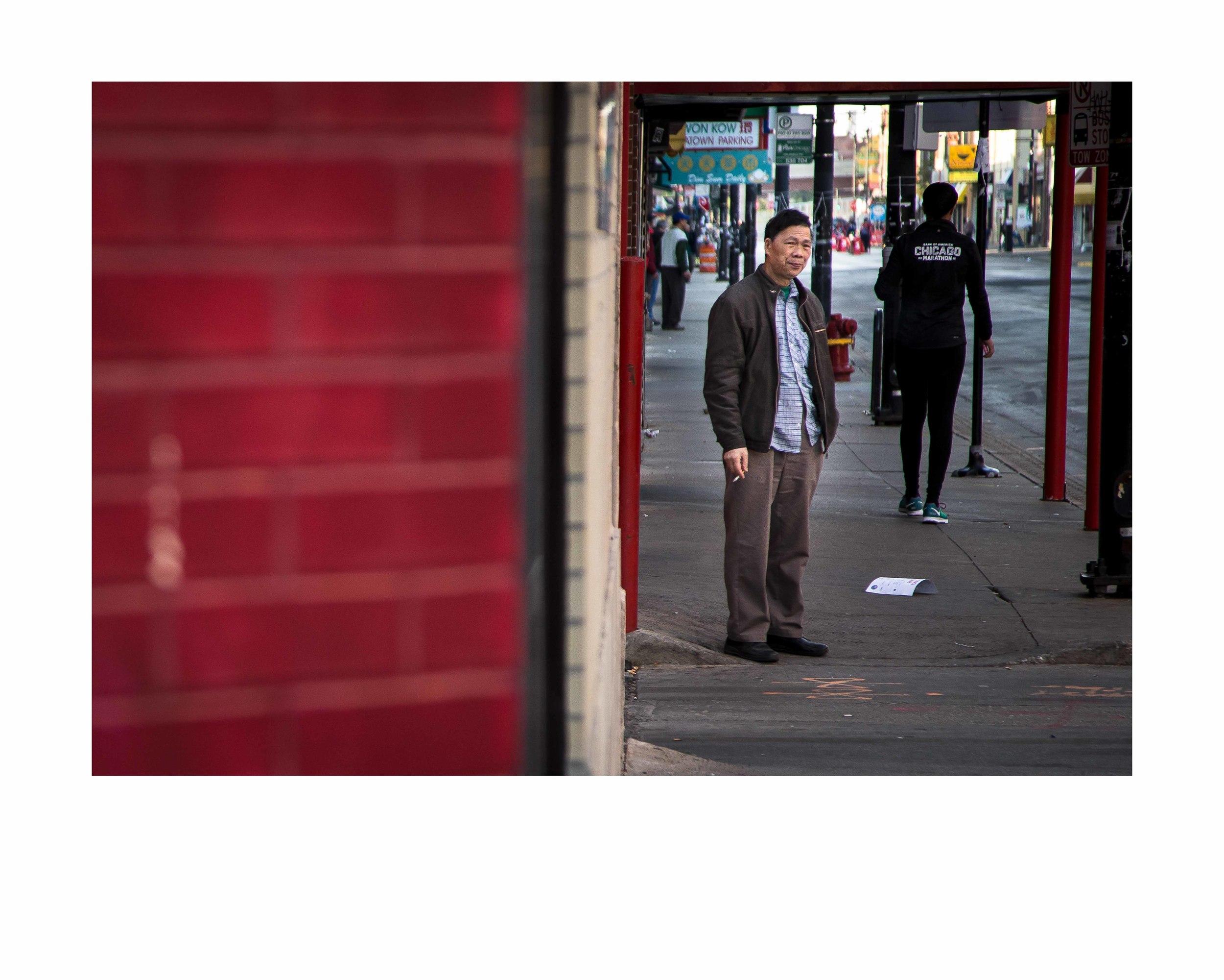 Chinatown.16x20 framed. $150