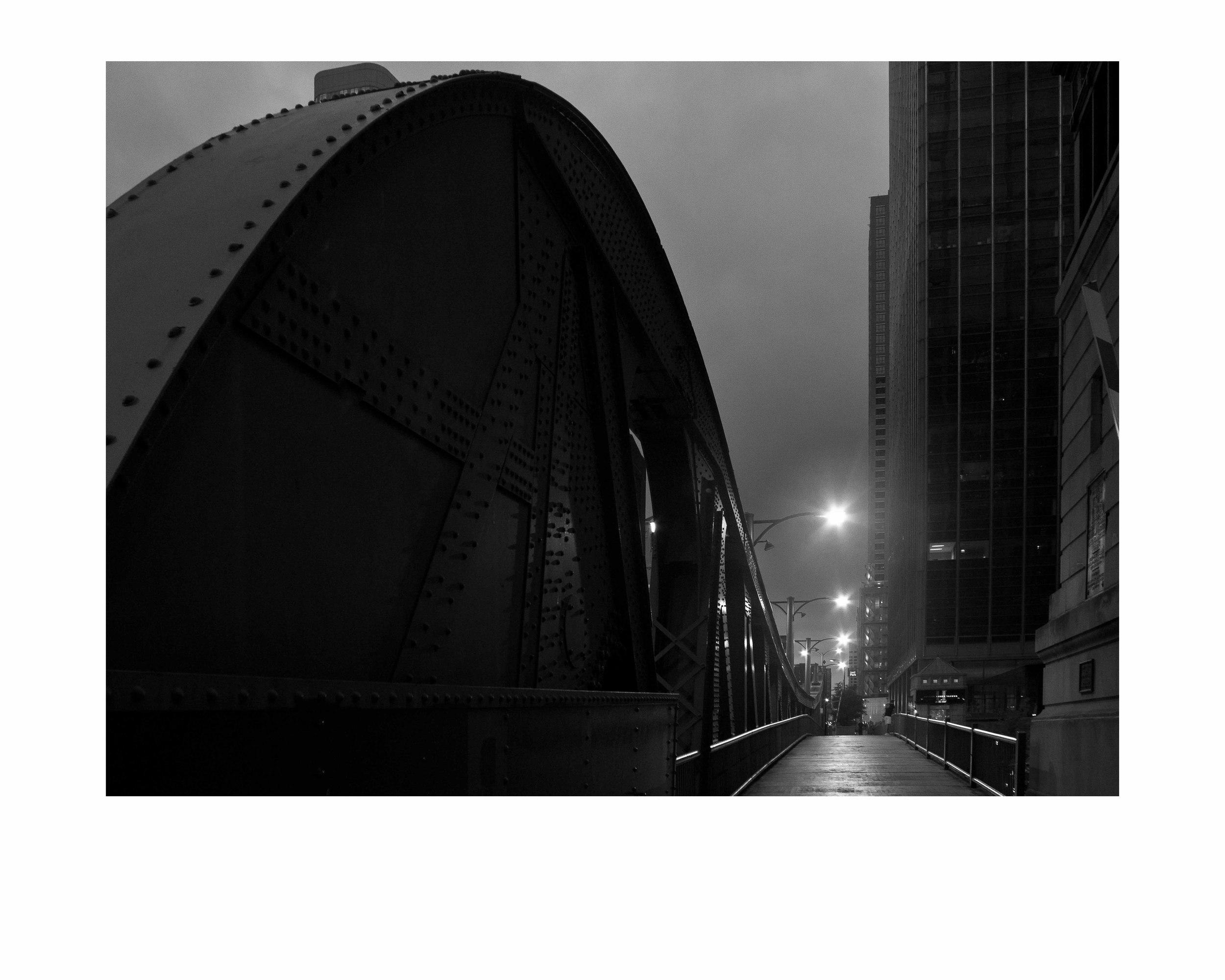 Clark St. Bridge.16x20 framed. $150