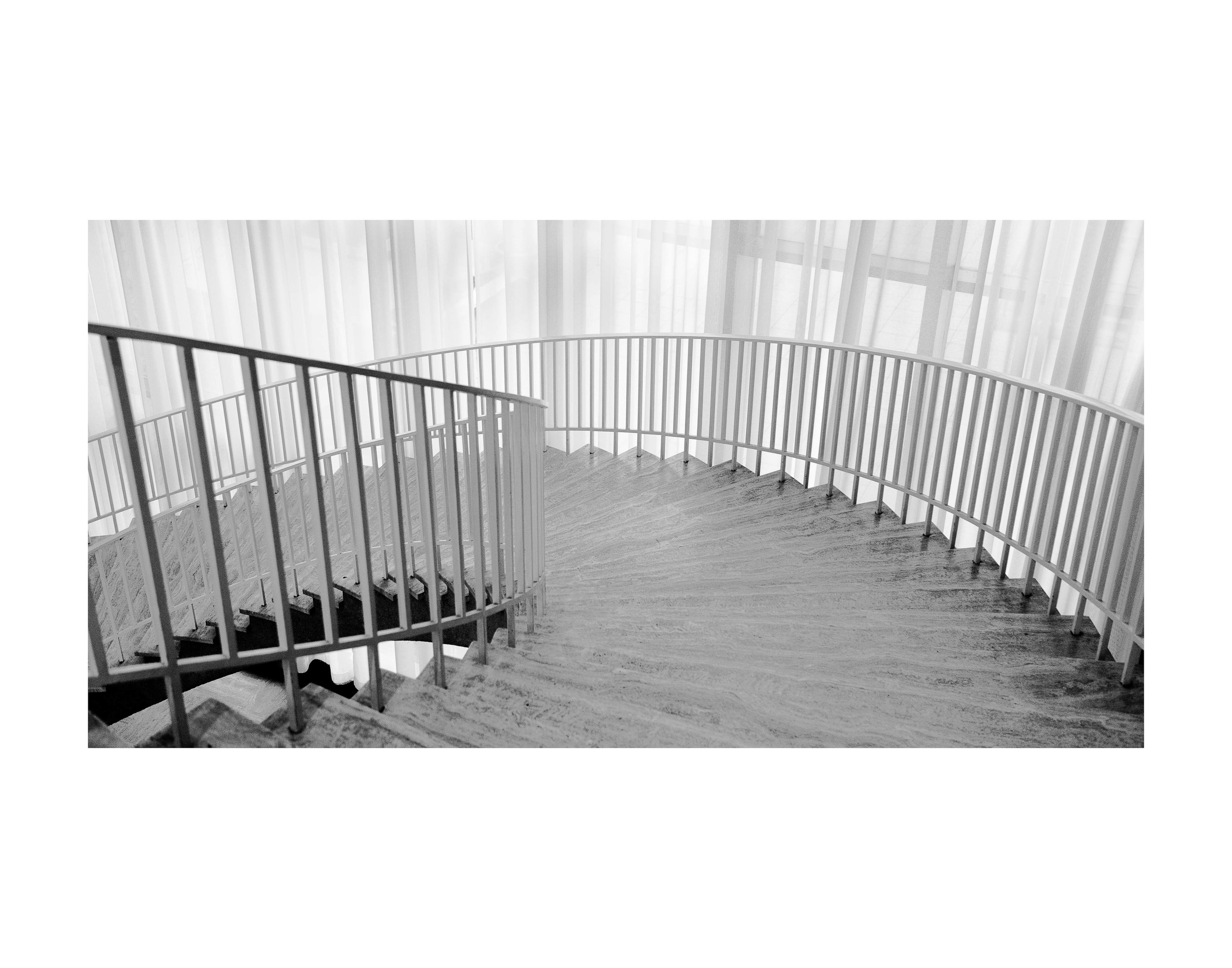 Art Institute Staircase Study. 11x14 framed. $75.