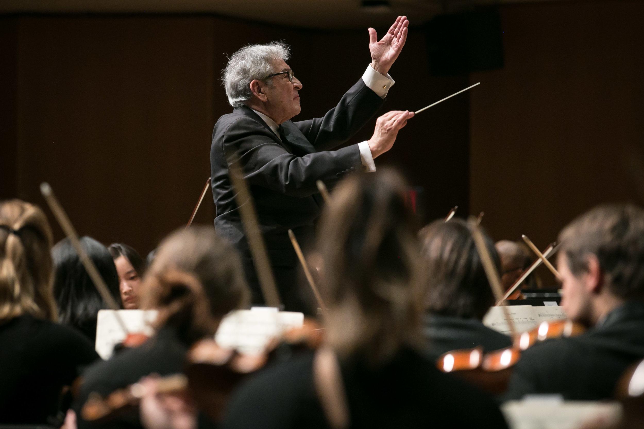 Victor Yampolsky and the Northwestern University Symphony Orchestra, February 3, 2018.