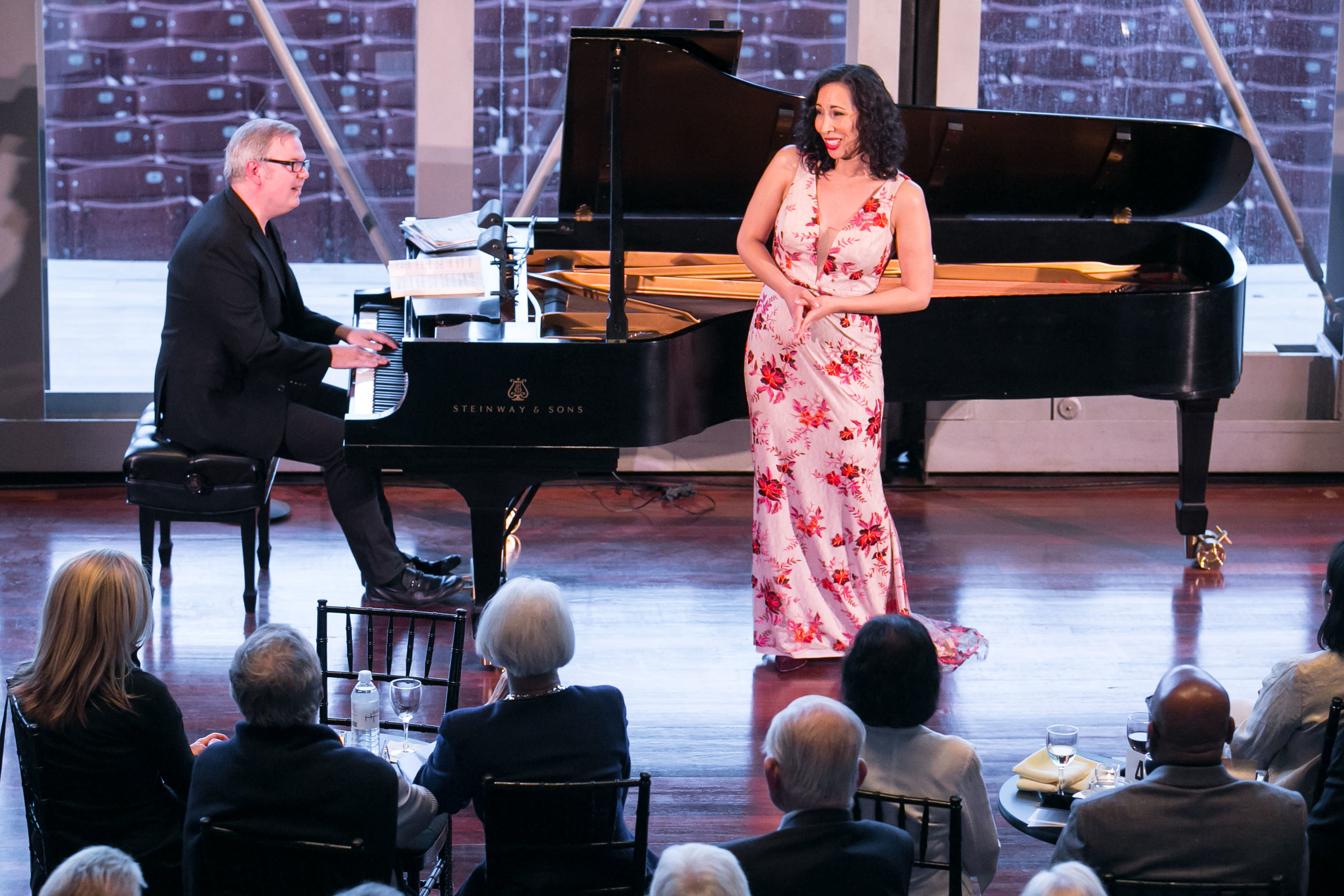 """Nicole Cabell and Craig Terry for Harris Theater's """"Beyond the Aria."""""""