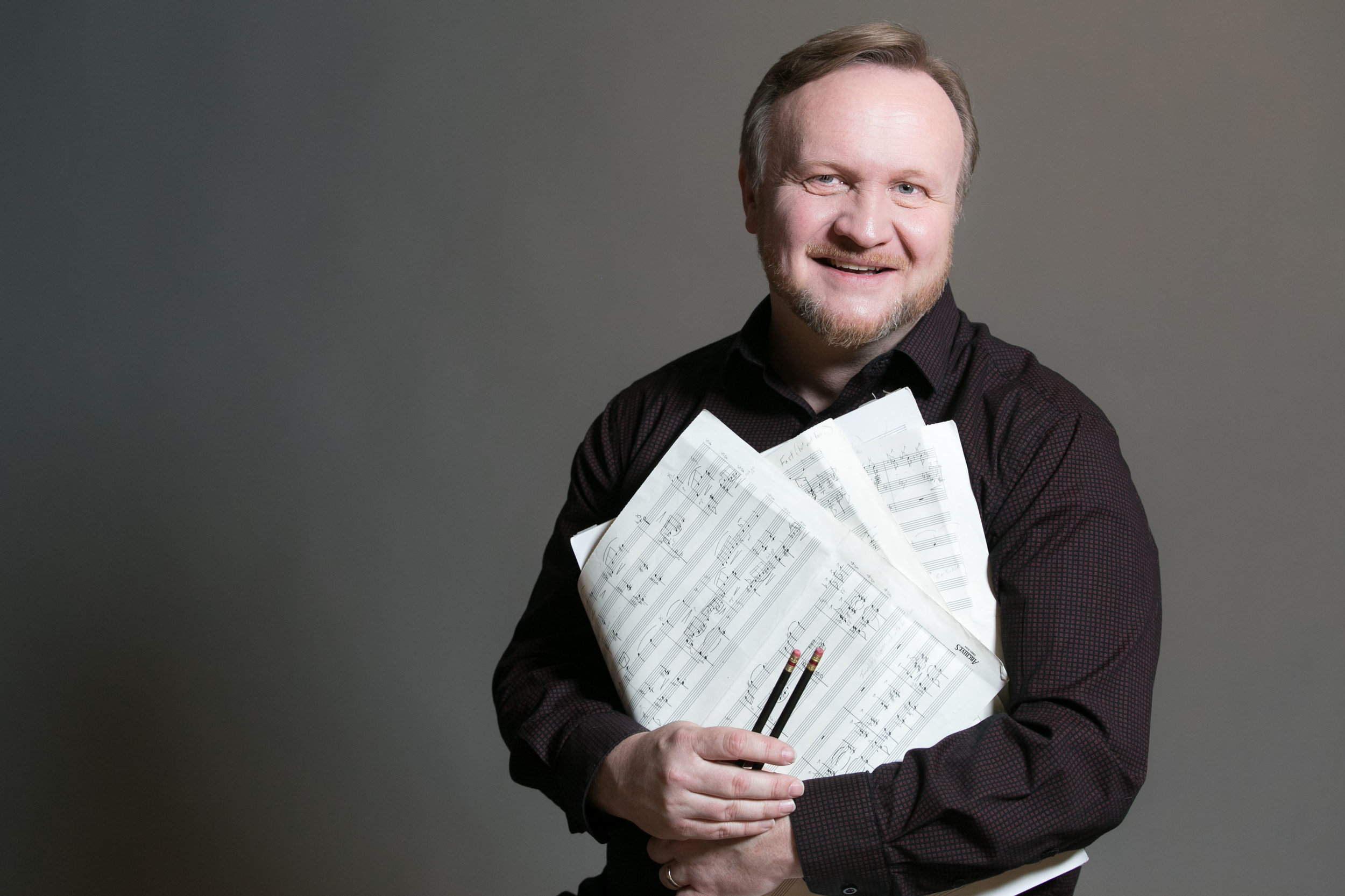 Composer/conductor/bassoonist Steve Ingle.