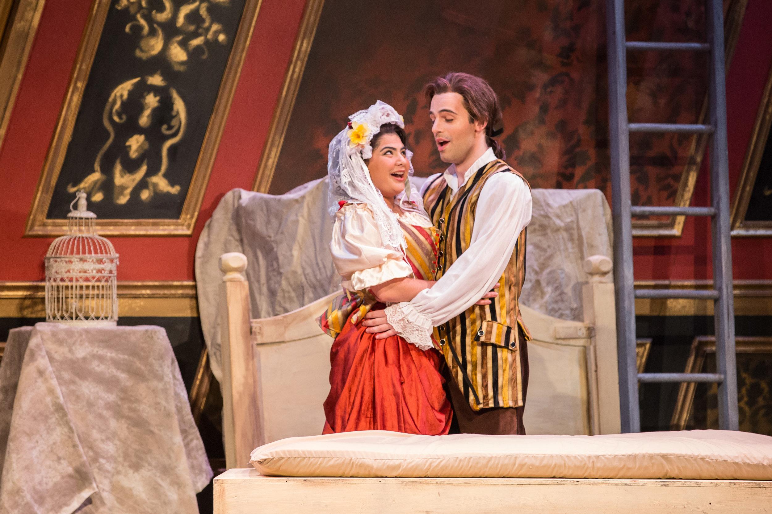 Marriage of Figaro, Northwestern University, 2016