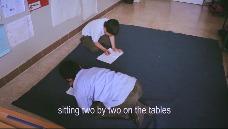During a regular class