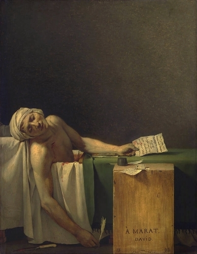 The Death of Marat  (1793), Royal Museums of Fine Arts of Belgium, Brussels