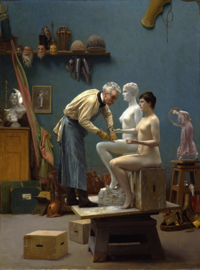 Working in Marble  (1890), Dahesh Museum of Art, New York