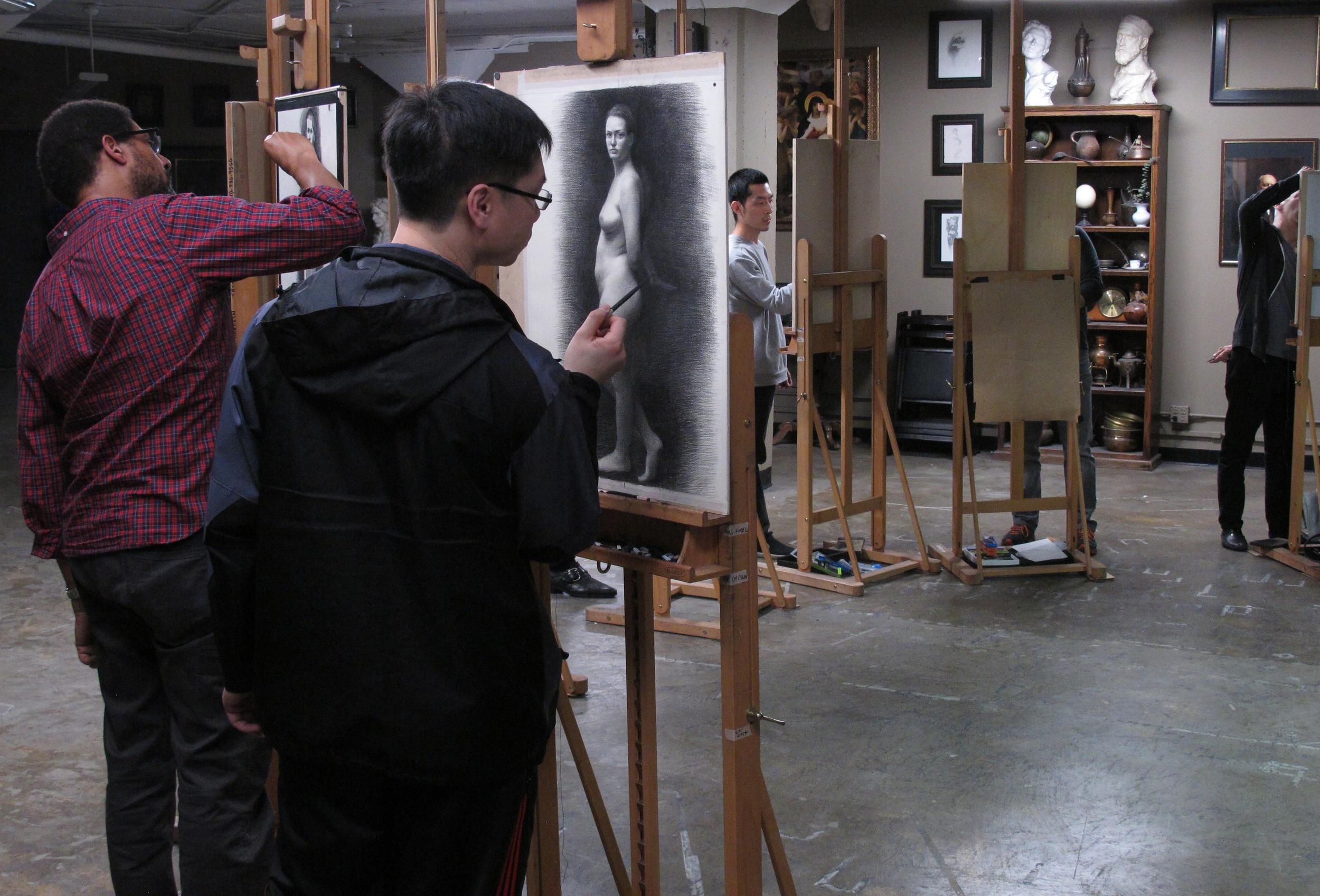 Sunday Evening Figure Drawing