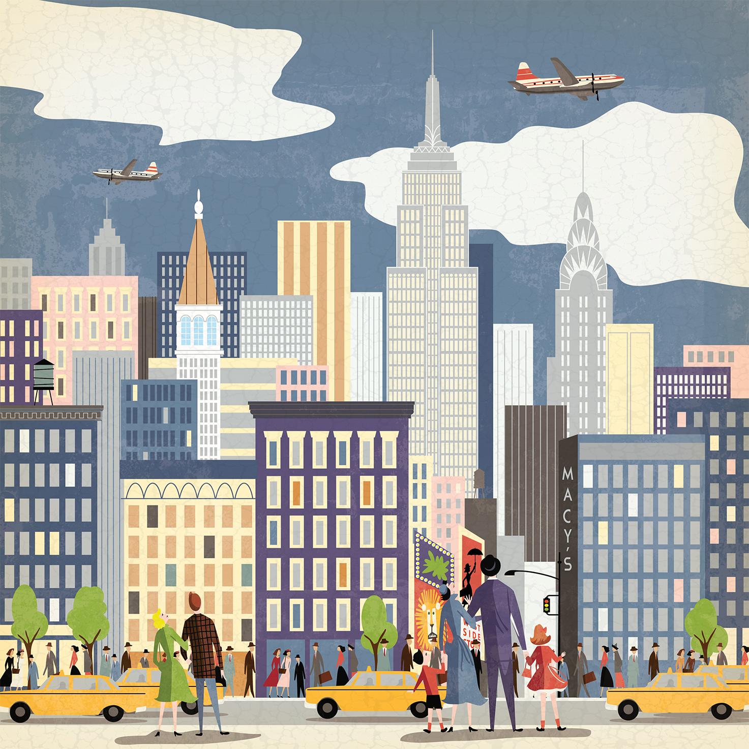 Vintage New York City Stationery Program