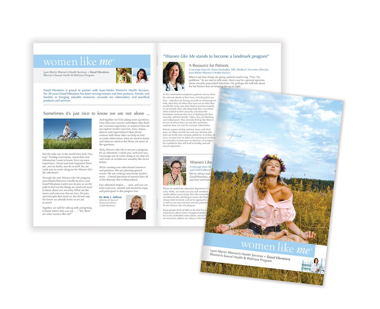 Niche Marketing,  Lyon-Martin Women's Health Services Brochure