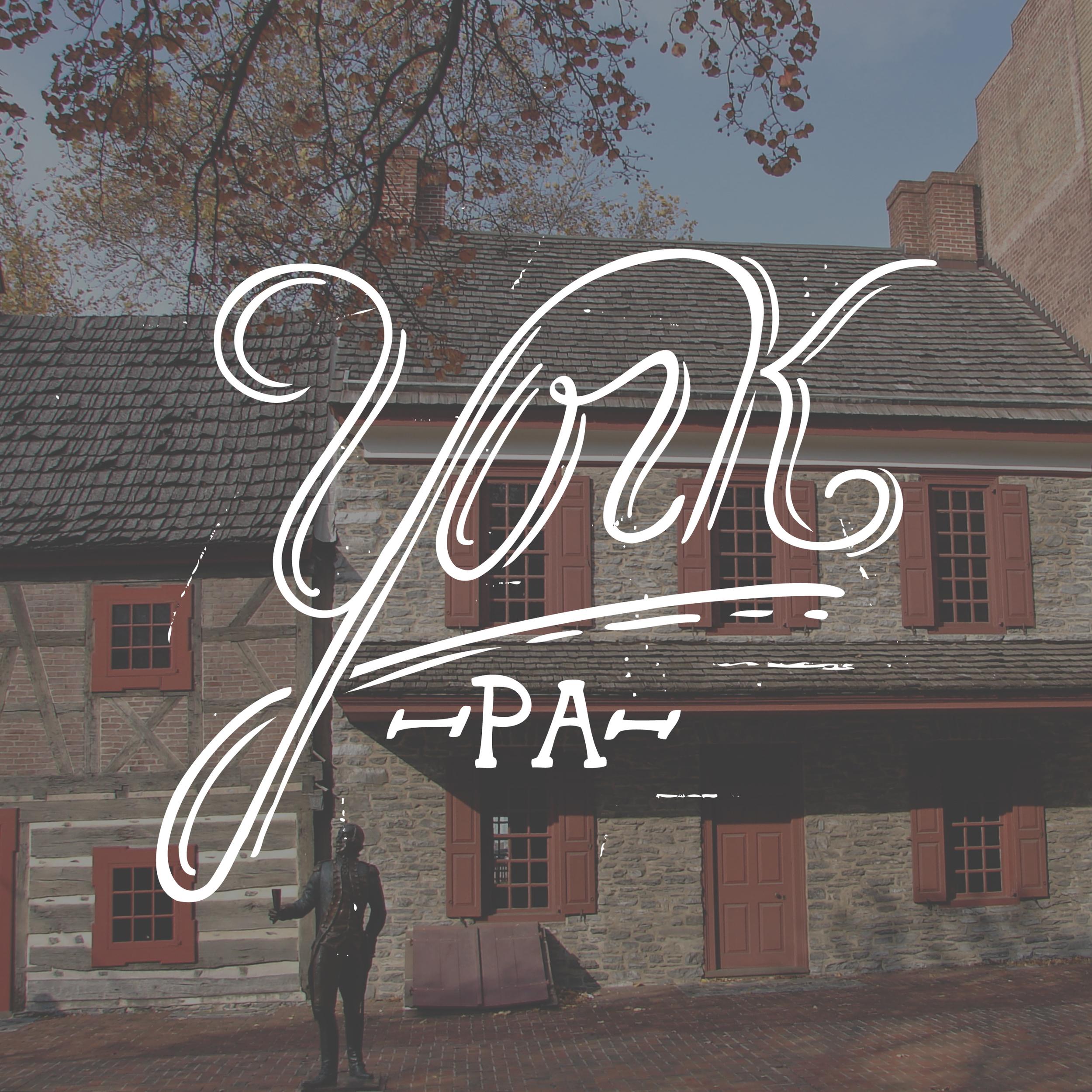 York Lettering
