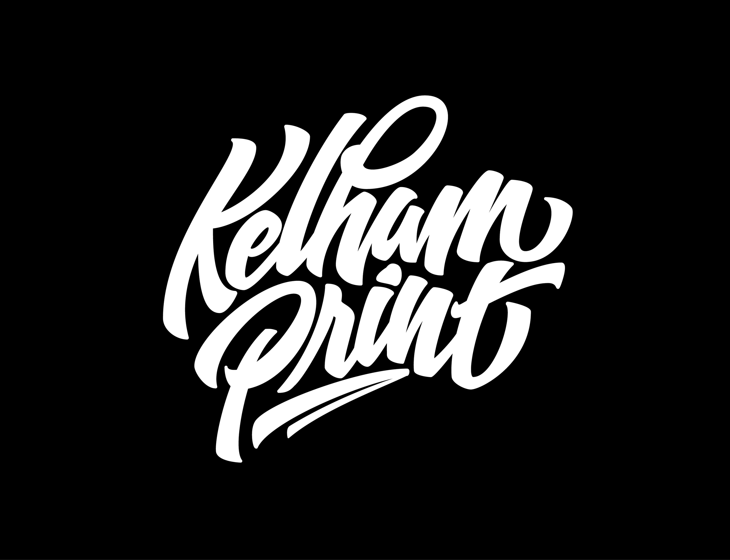 Kelham Print White