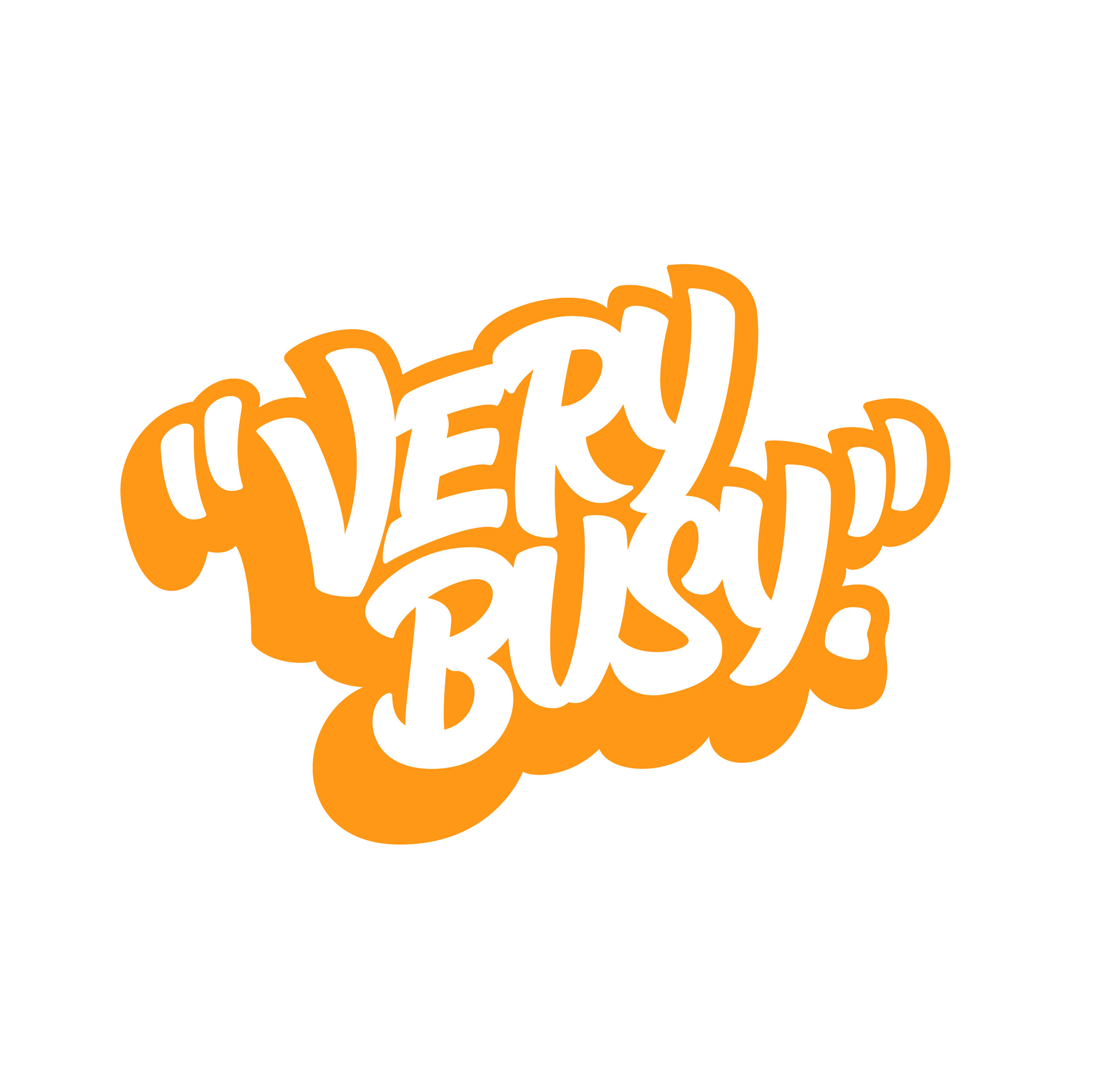 Very Busy - orange