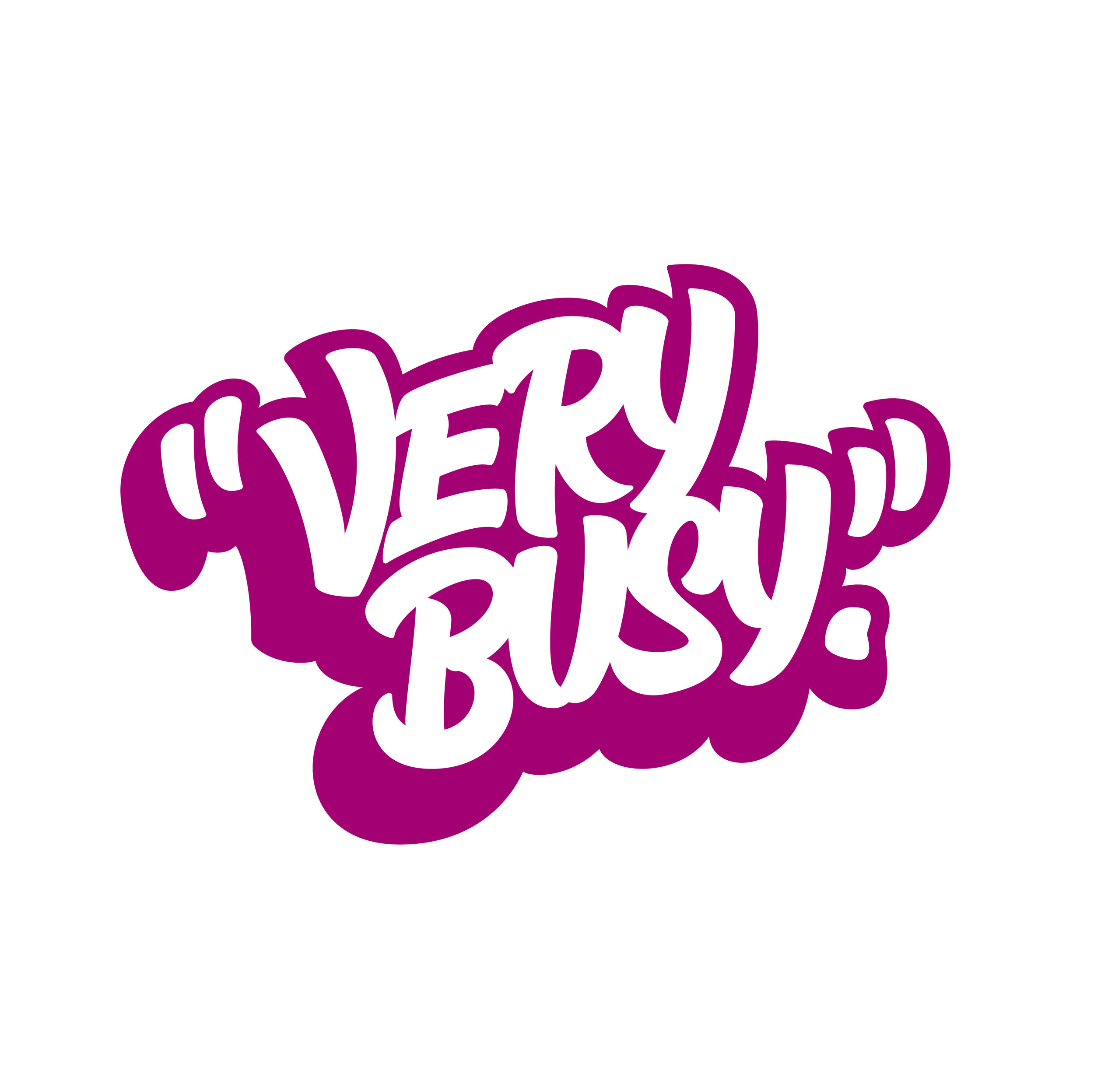 Very Busy - purple