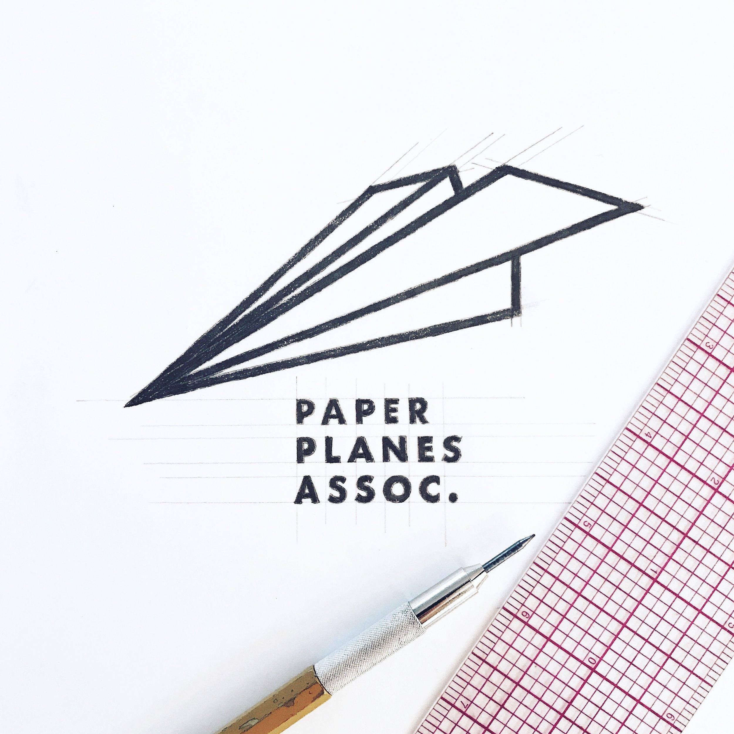 Paper Planes Sketch