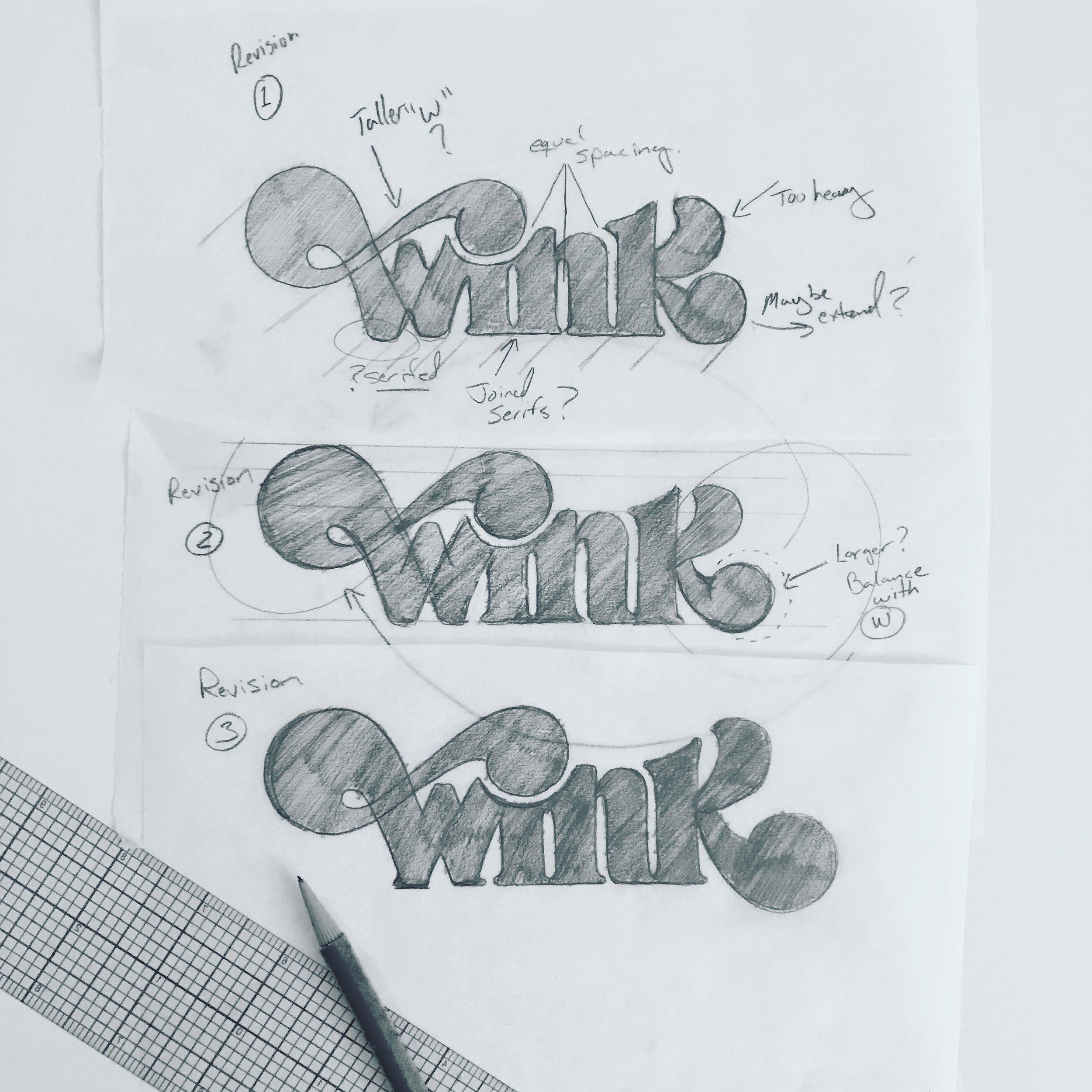 Wink sketches