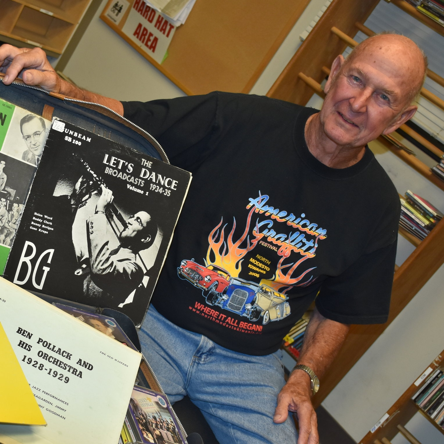 Name: Harold Pete Peterson  DJ name: Harold Peterson  With KCSS since: 2014  Favorite Musicians: Benny Goodman, Artie Shaw  Show Music Genre: Swing, Blues, & Jazz  Program Time: Wednesdays, 10 a.m. - 1 p.m.