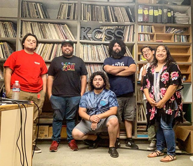 Today's in-studio session with @valleywolf209 was super fun and energetic. Thanks for stopping by guys! #kcss919 #collegeradio #instudiosession #turlock #stanstate #csustanislaus #supportyourlocalbands