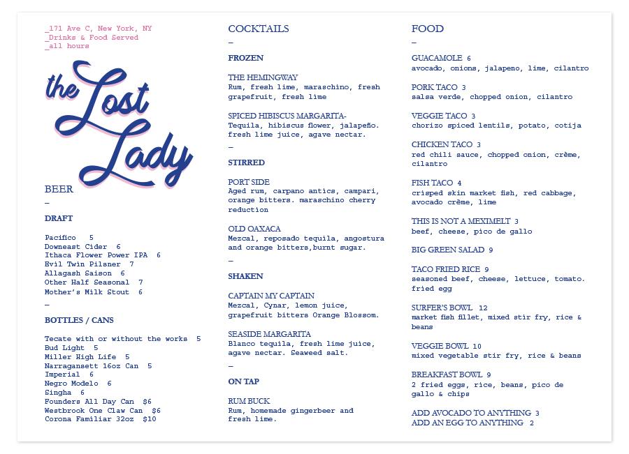 The Lost Lady — jamie shankman
