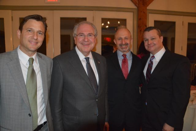 Speaker Robert A. DeLeo joined the LBA for its annual Spring Dinner in March.